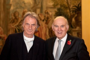Sir Paul Smith and Rt Hon Vince Cable MP (photo by Kate Darkins Photography)